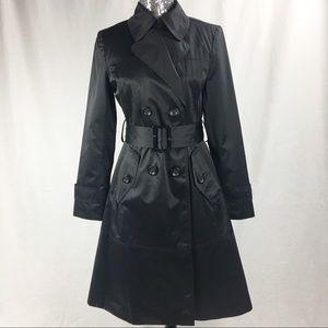 London Fog Black Rain Coat